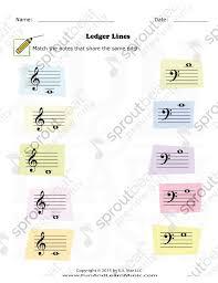 music worksheets notes ledger lines 001 jpg