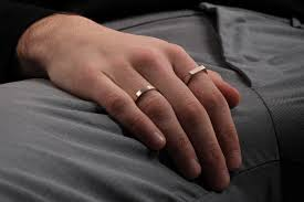 4mm ring mujo cs 4mm band ring brass men s jewelry