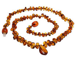 amber stone necklace images Baltic amber necklace small size for baby or for adult jpg