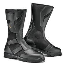 wide width motorcycle boots sidi all road gore tex boots revzilla