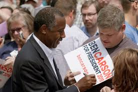 ben carson presidential bid rock ar ben carson gains support as the other political