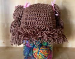 Cabbage Patch Kids Halloween Costume Cabbage Patch Wig Etsy