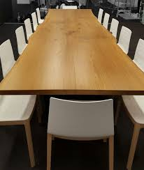 Oak Meeting Table From Rstco Live Edge White Oak Conference Table