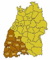 Germany Map Freiburg by Freiburg Regiune Wikipedia