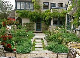 mixed plant natural english garden design ideas pictures