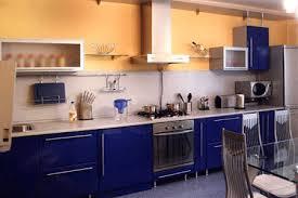 blue kitchen cabinets ideas royal blue kitchen design carved wood kitchen cabinets