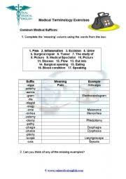 english teaching worksheets suffixes