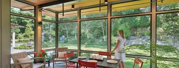 modern screen porch wellesley flavin architects