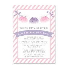 baby shower invites free templates tutu baby shower invitations free invitations templates