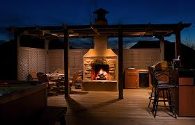 outdoor fireplace main picture premier deck and patios lp