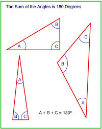 The Interior Angles Of A Triangle Always Add Up To How To Calculate The Sides And Angles Of Triangles Owlcation