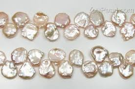 wholesale pearls necklace images 12 15mm quality pink keshi cornflake pearl discounted sale pearl jpg