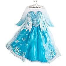 elsa costume disney store frozen princess elsa costume size large 9