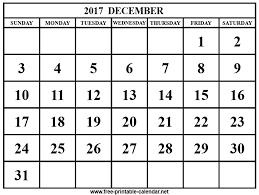 black friday december 2017 calendar october 2017 to december 2017