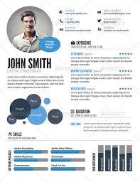 Graphic Resume Templates Free Graphic Resume Templates 35 Infographic Resume Templates Free