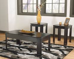 City Liquidators Portland Furniture by Ashley Vamir 3pc Table Sett511 13 Home Furniture City