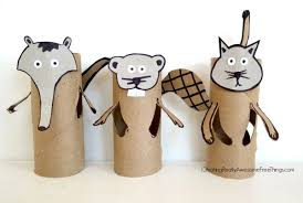 Paper Roll Crafts For Kids - cat toilet paper roll crafts c r a f t