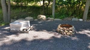 Pallet Fire Pit by Bott Lott Improvements Granite Fire Pit Outside Our Bubble