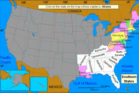 us map quiz sheppard software u s a capitals level one learning