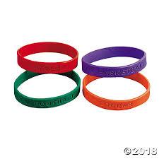 rubber wristband bracelet images Sports rubber bracelets