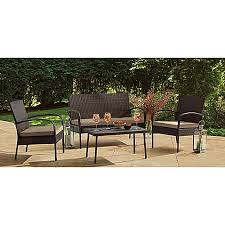 Family Dollar Lawn Chairs Patio Furniture Sets Chair Pads Seat Cushions U0026 More Bed Bath