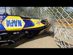 hra funny car crash shows how important parachutes really are