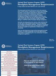 fema 480 floodplainmanagementrequirements floodplain flood