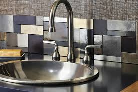 kitchen metal backsplash metal backsplash ideas hgtv