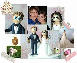 custom cake topper 14 awesome custom wedding cake toppers wedding idea