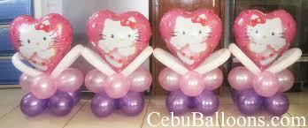 hello centerpieces hello centerpieces pink purple cebu balloons and party