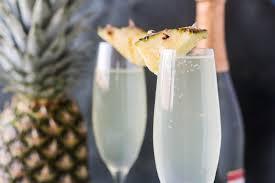 pineapple mimosas blackberry