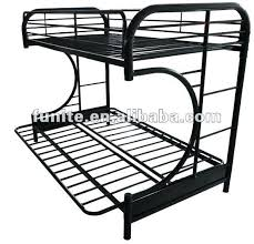White Metal Futon Bunk Bed Black Loft Bed With Futon Silver Black Metal Futon Bunk Bed