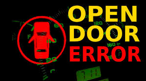 open door error chevrolet spark youtube