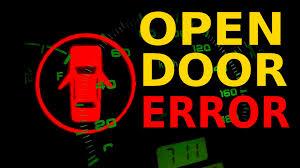 open door error chevrolet spark youtube
