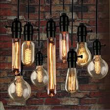 incandescent luminaire outdoor lighting vintage loft retro diy e27 spiral incandescent light novelty fixture