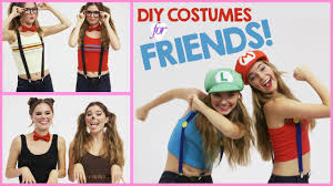 diy halloween costumes to wear with friends w nina and randa