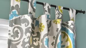 how to make curtains how to make tab top curtains with pictures wikihow