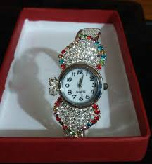 beautiful bracelet watch ideal gift for her with free mosquito