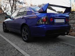 evo spoiler altezza painted with dupont refinish and polished meguiars lexus