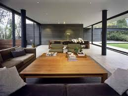Large Floor L Wooden Floor And White Wall Living Room L Shaped House White L
