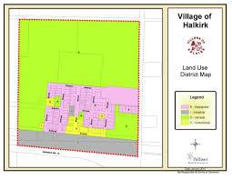 land use map of halkirk village of halkirk