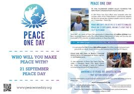 resources peace one day
