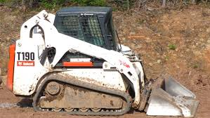 time lapse bobcat t190 spreading topsoil youtube