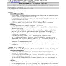 Resume Business Analyst Sample by System Analyst Resume Sample Free Best Business Systems Template
