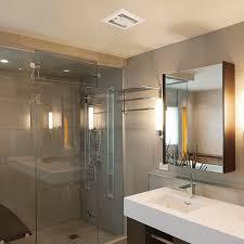 contemporary panasonic whisper quiet bathroom fan with light