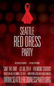6th annual seattle red dress party 21 event