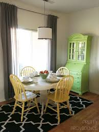 dining room makeover on a teeny tiny budget