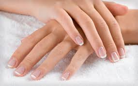 wagjag 24 for a new set of french tip gel nails or a spa