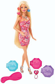 amazon barbie color chalk hair salon doll toys u0026 games