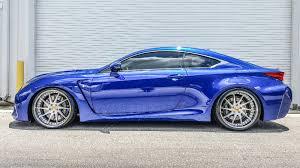 custom lexus rc blue lexus rc f